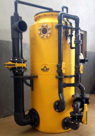 Moving Bed Filtration Reactor MBBR for aquariums & aquaculture