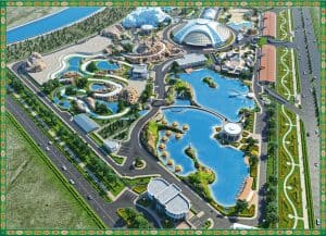 Awaza Aquarium And Water Park area