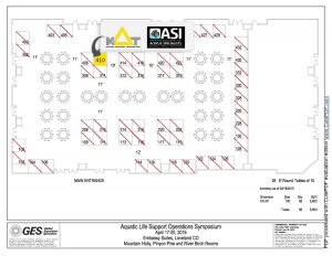AALSO 2016 booth layout