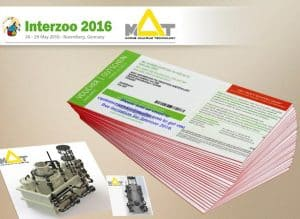 Visit MAT LSS at Interzoo 2016 & Get a Free Invitation