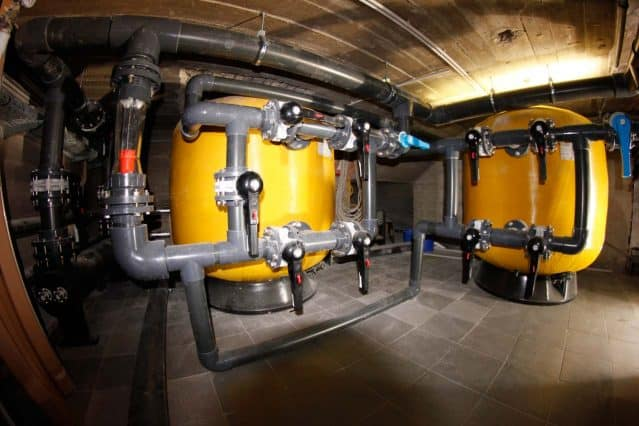 Haus des Meeres Aquarium Filtration Room