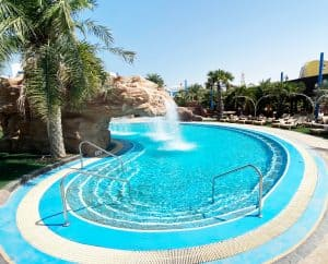 Completed Swimming Pool at Salwa Resort