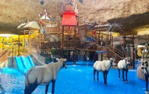 Completed Waterpark at Salwa Dahab Mountain
