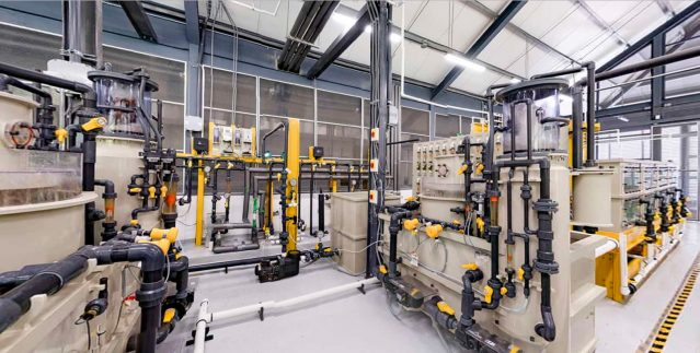 Compact Skid Filtration Room