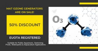 Ozone Generators Sale 50%! (Limited Time)