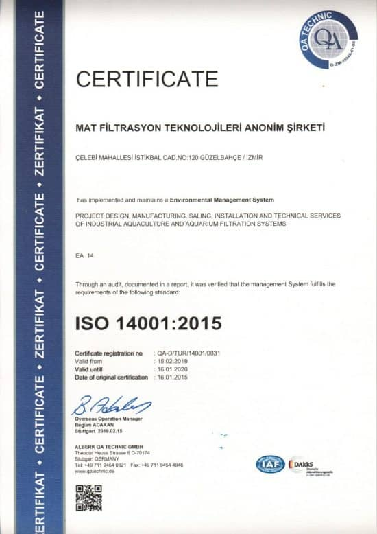 ISO 14001 2019
