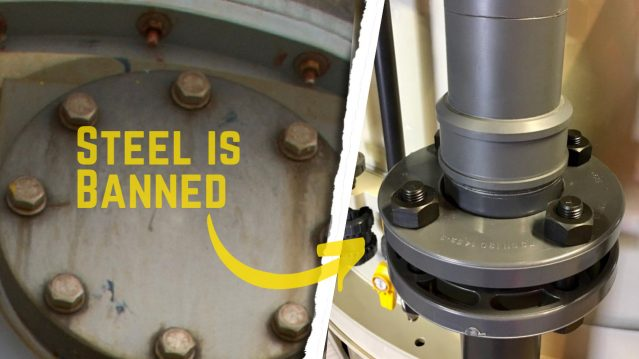 The Ban of A4 316 Stainless Steel Bolts & Nuts