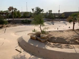 The Djerba Crocodile Park in Dubai