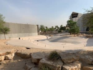 Building the Djerba Crocodile Park
