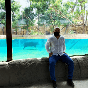 The VP of MAT at Dubai Safari Park