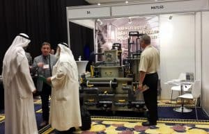 MAT visitors in Middle East Aquaculture Forum