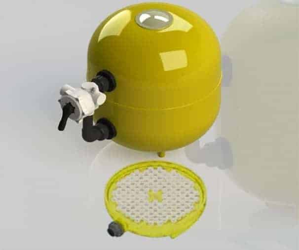 AFM Pressurized filters