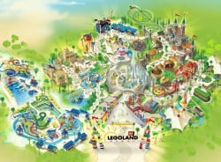 Dubai Legoland Map