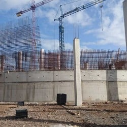 Poema del Mar Aquarium Construction Site