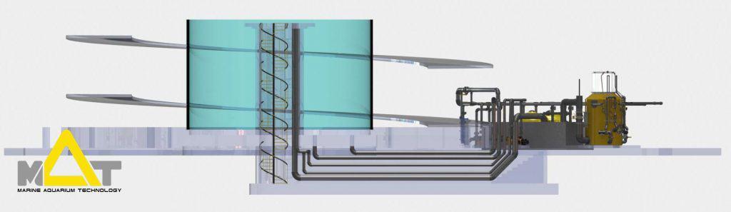 Engineering services for Aquariums and Recirculating Aquaculture Applications
