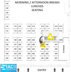 IAC 2016 Exhibitor Floor Plan