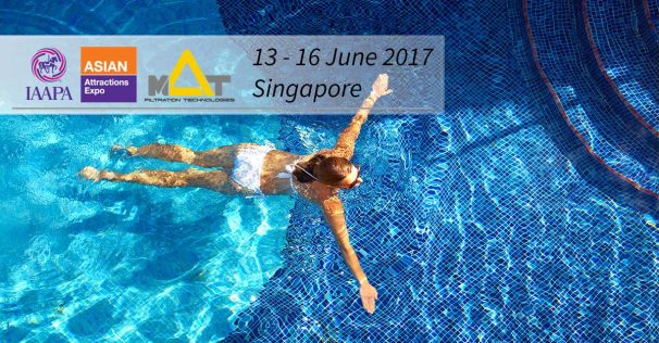Swimming Pool Filtration Systems at IAAPA - AAE 2017